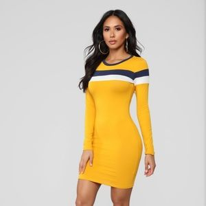 Who's Most Popular Color Block Dress